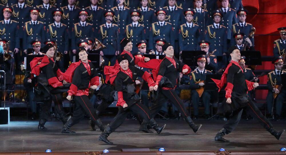 Jubileusz zespołu im. Aleksandrowa w Teatrze Bolszoj