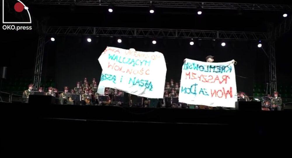 Incydent podczas koncertu Chóru Aleksandrowa w Bydgoszczy