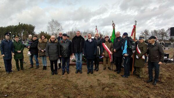 Cmentarz w Goryniu - Sputnik Polska
