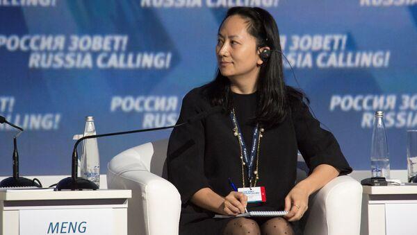 Meng Wanzhou - dyrektor finansowa koncernu Huawei - Sputnik Polska