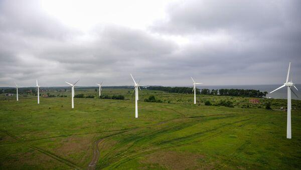 Elektrownia wiatrowa - Sputnik Polska