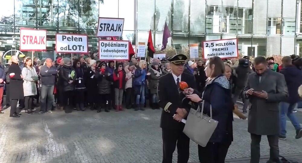 Strajk w LOT