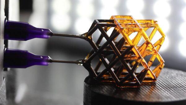 Elastyczny metamateriał szybko utwardzający się w polu magnetycznym - Sputnik Polska