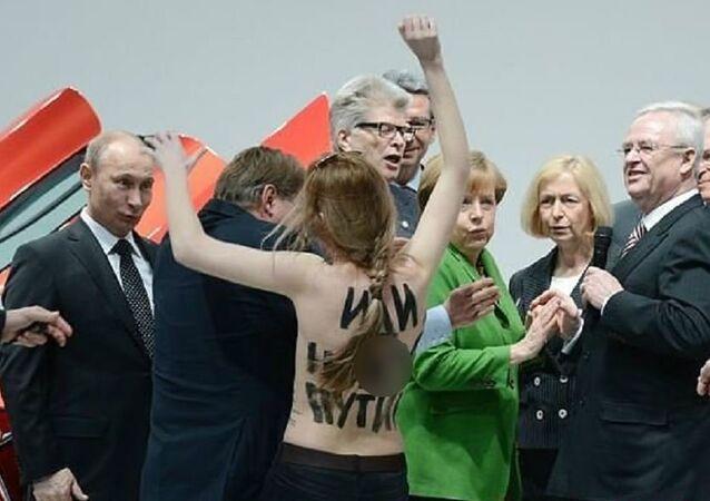 FEMEN kontra Putin