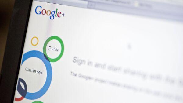 Sieć społecznościowa Google+ - Sputnik Polska