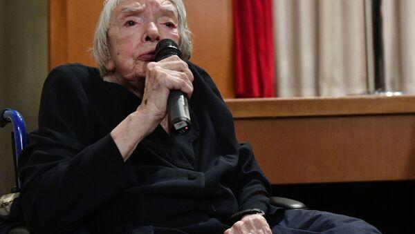 Председатель региональной общественной организации Московская Хельсинская группа Людмила Алексеева - Sputnik Polska