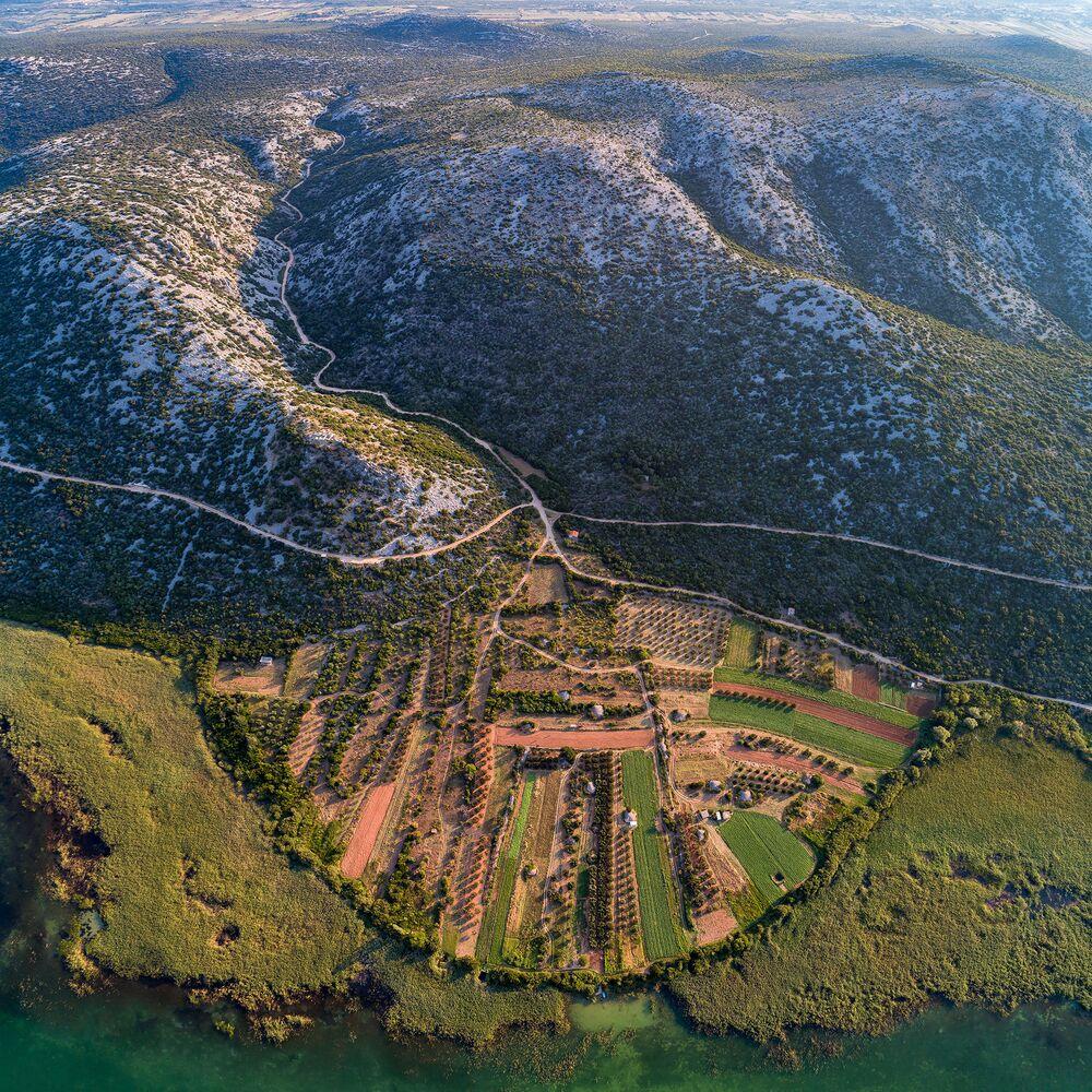 Vransko jezero w Chorwacji