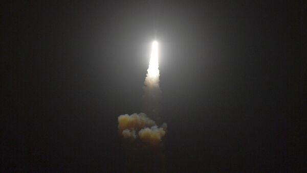 Wystrzał amerykańskiej antyrakiety Standard Missile-3 Block IIA - Sputnik Polska