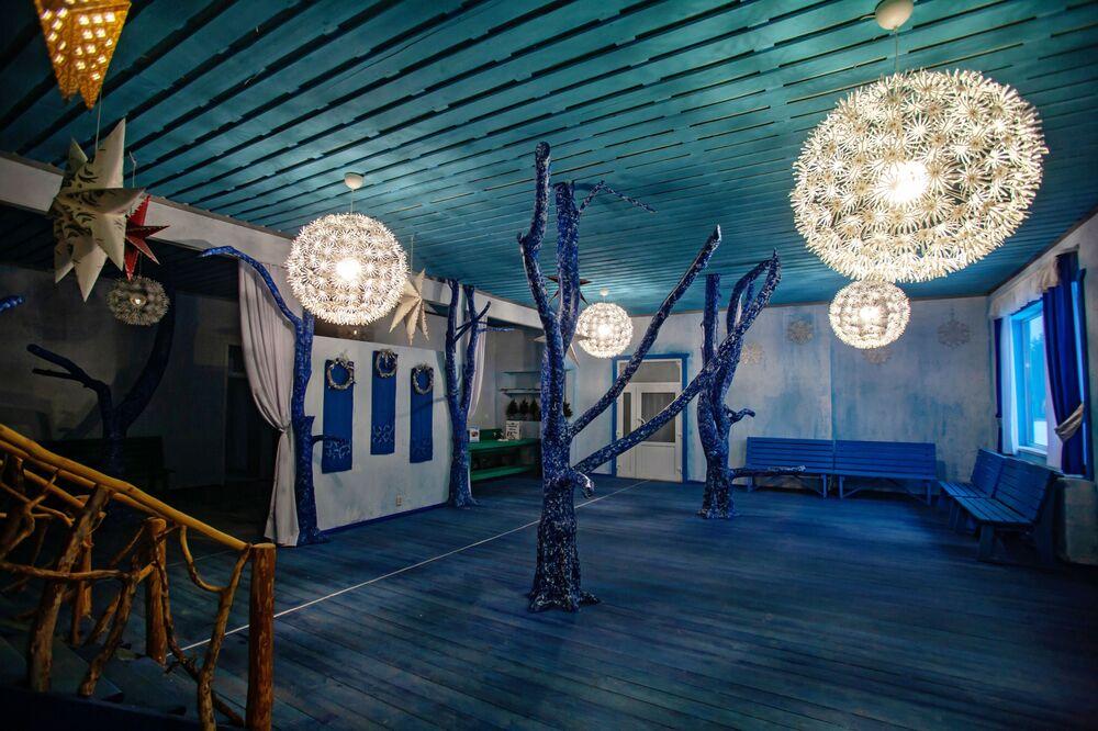 Izba Śnieżynki na terytorium karelskiego Dziadka Mroza