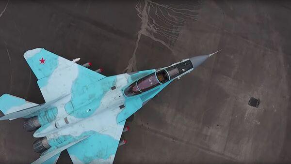 Testy najnowszego myśliwca MiG-35 - Sputnik Polska