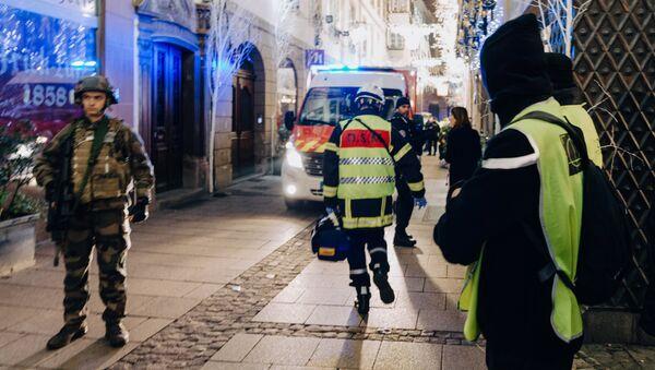 Strzelanina w Strasburgu, 11 grudnia 2018 - Sputnik Polska