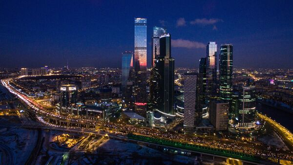 Centrum biznesowe Moscow City - Sputnik Polska