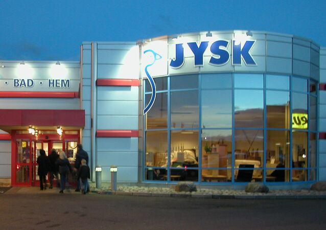 Sklep meblowy JYSK w Szwecji