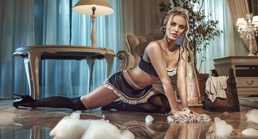 Seksowna pokojówka