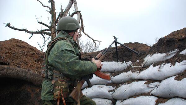 Żołnierz DRL na pozycji. Zdjęcie archiwalne - Sputnik Polska