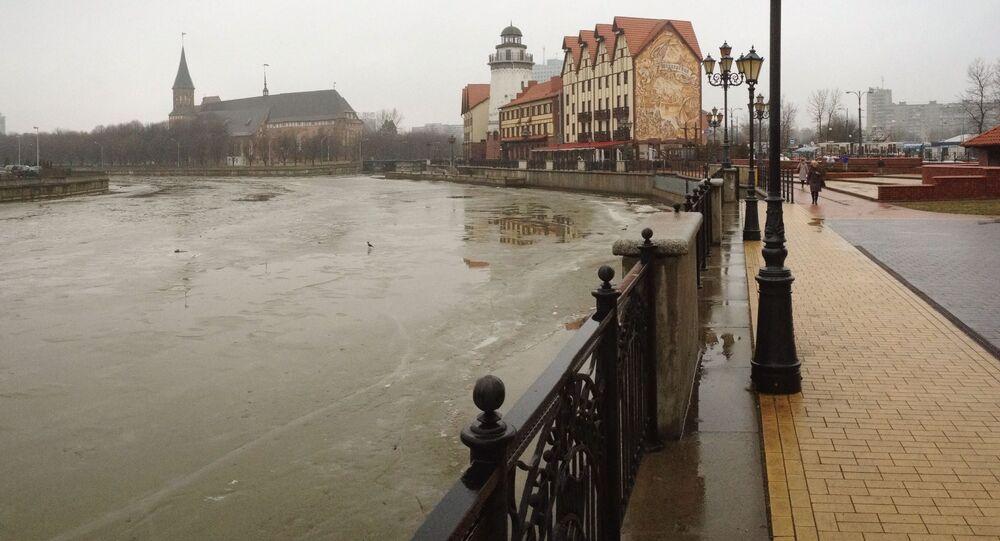 Bulwar w Kaliningradzie