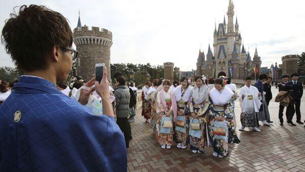 Disneyland w Tokio - Sputnik Polska