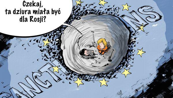 Czekaj! Ta dziura miała być dla Rosji? - Sputnik Polska