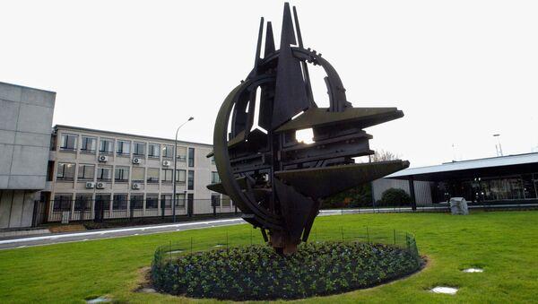 Budynek kwatery głównej NATO w Brukseli - Sputnik Polska