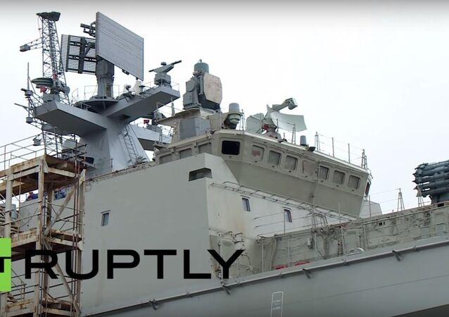 Amirał Makarow w Kaliningradzie