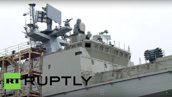 Amirał Makarow w Kaliningradzie - Sputnik Polska
