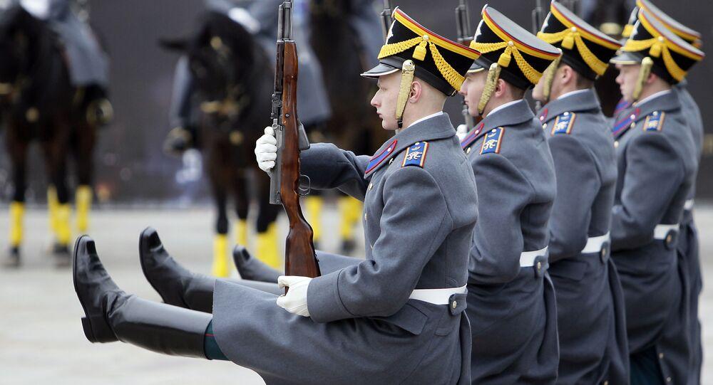 Pułk prezydencki, Moskwa, Rosja