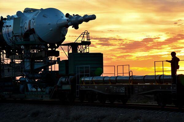 Przygotowania do uruchomienia rosyjskiej rakiety nośnej Sujuz-FG - Sputnik Polska