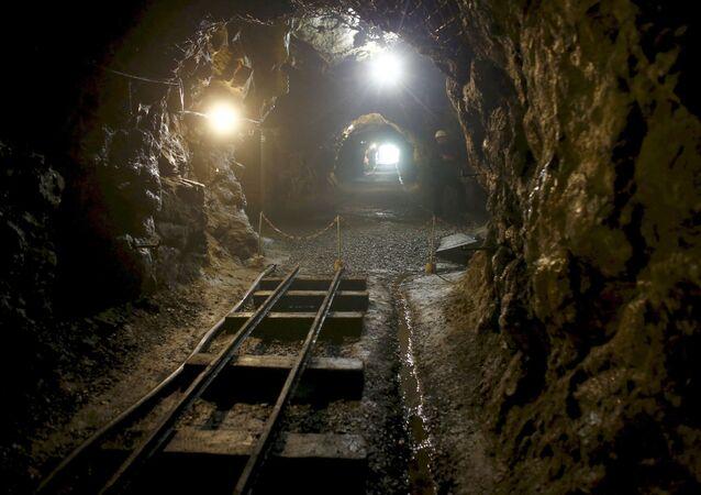 Tunel w pobliżu Walbrzycha