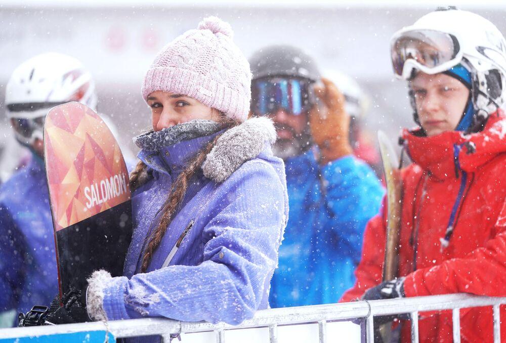 """Kurort górski """"Gazprom"""" w Soczi"""