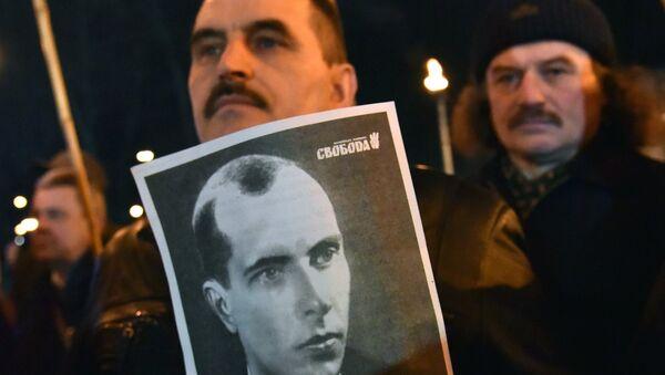 Marsz nacjonalistów na Ukrainie - Sputnik Polska