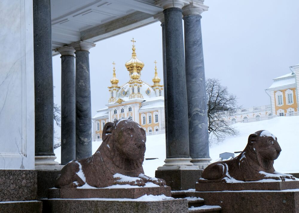 Wielki Pałac w Petergofie, obwód leningradzki