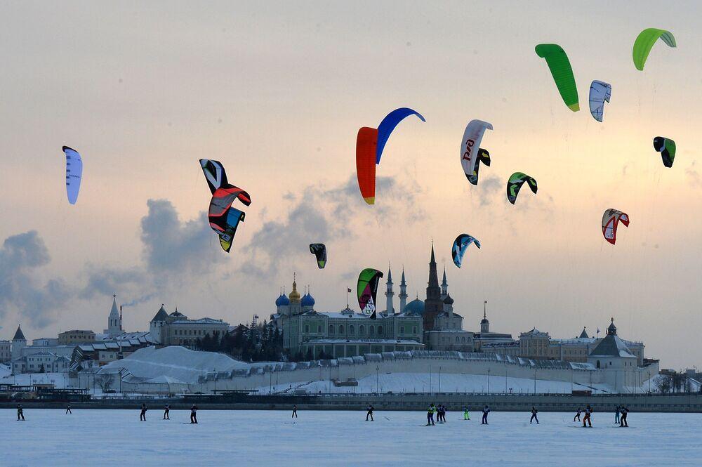 Rzeka Kazanka w Kazaniu