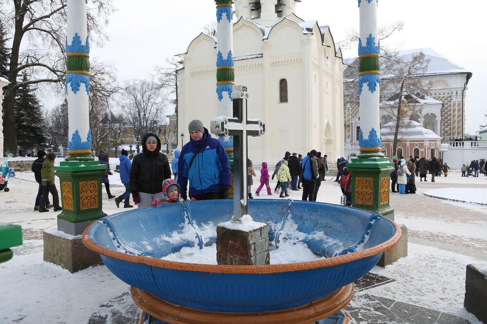 Ławra Troicko-Siergijewska pod Moskwą