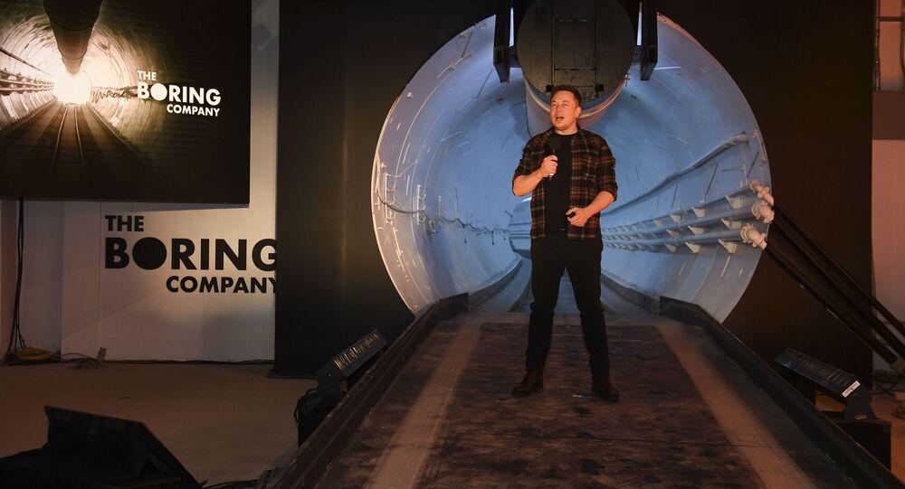 Otwarcie pierwszego podziemnego tunelu szybkiego ruchu pod Los Angeles
