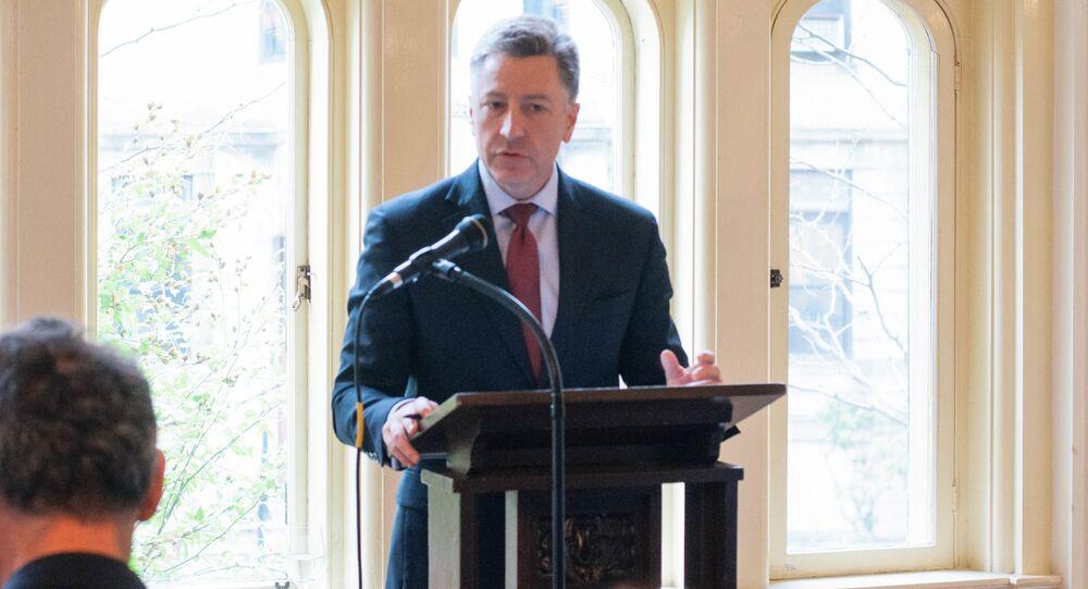 Specjalny wysłannik USA ds. Ukrainy Kurt Volker