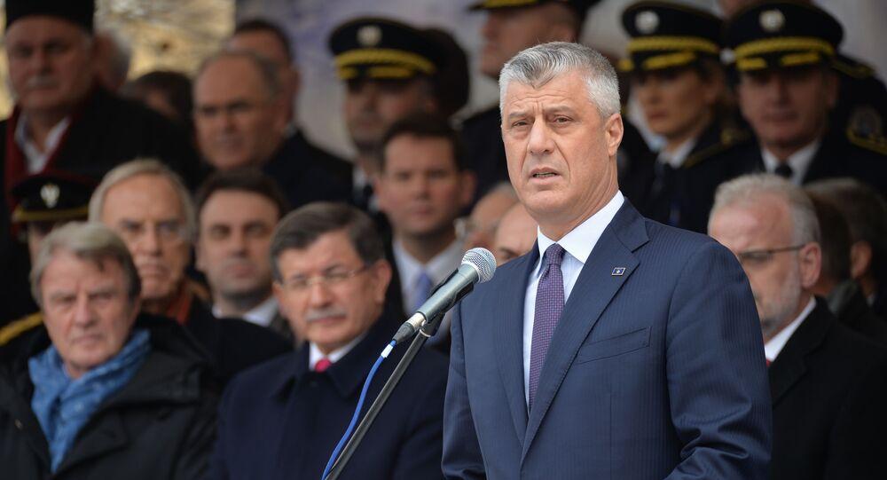 Prezydent Republiki Kosowa Hashim Thaci