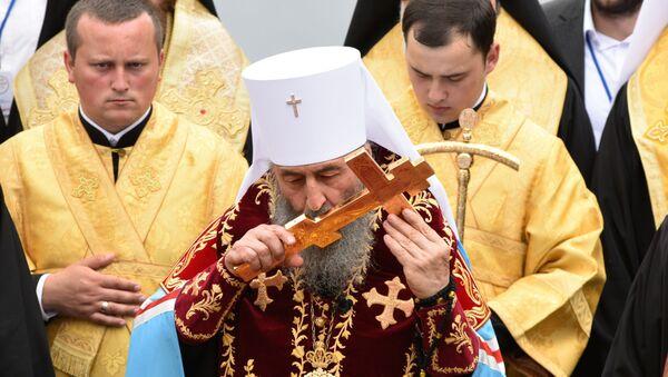 Zwierzchnik Ukraińskiego Kościoła Prawosławnego Patriarchatu Moskiewskiego - Sputnik Polska
