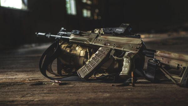 Nowy karabin AK-12 - Sputnik Polska