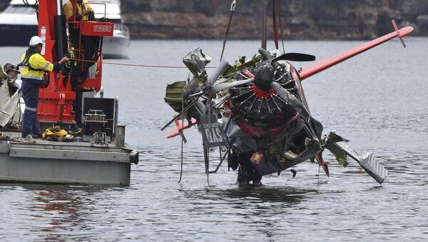 Katastrofa lotnicza, w której zginął pilot, 44-letni brytyjski milioner Richard Cousins i czworo członków jego rodziny - Sputnik Polska