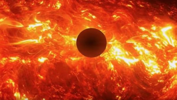 Zrzut ekranu z wideo Kiedy spłonie Ziemia - Sputnik Polska