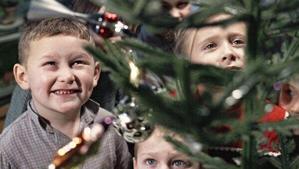 Choinka dla dzieci, 1966 rok - Sputnik Polska