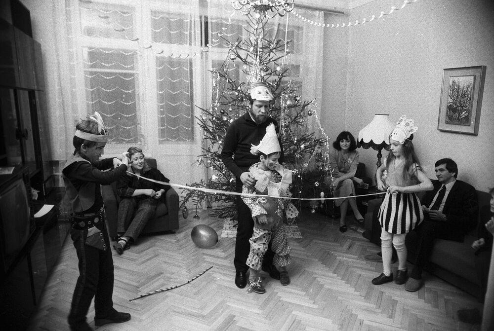 Sylwester w domu, 1987 rok
