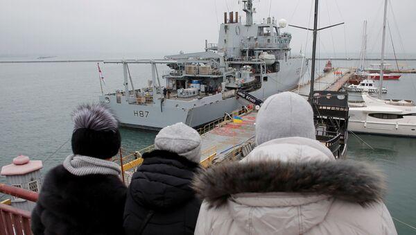 HMS Echo - Sputnik Polska