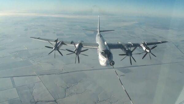Dzień Dalekiego Lotnictwa Powietrzno-Kosmicznych Sił Rosji - Sputnik Polska
