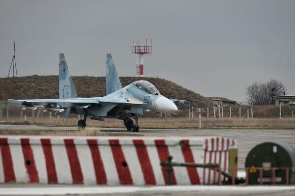 Myśliwiec Su-30M2 - Sputnik Polska