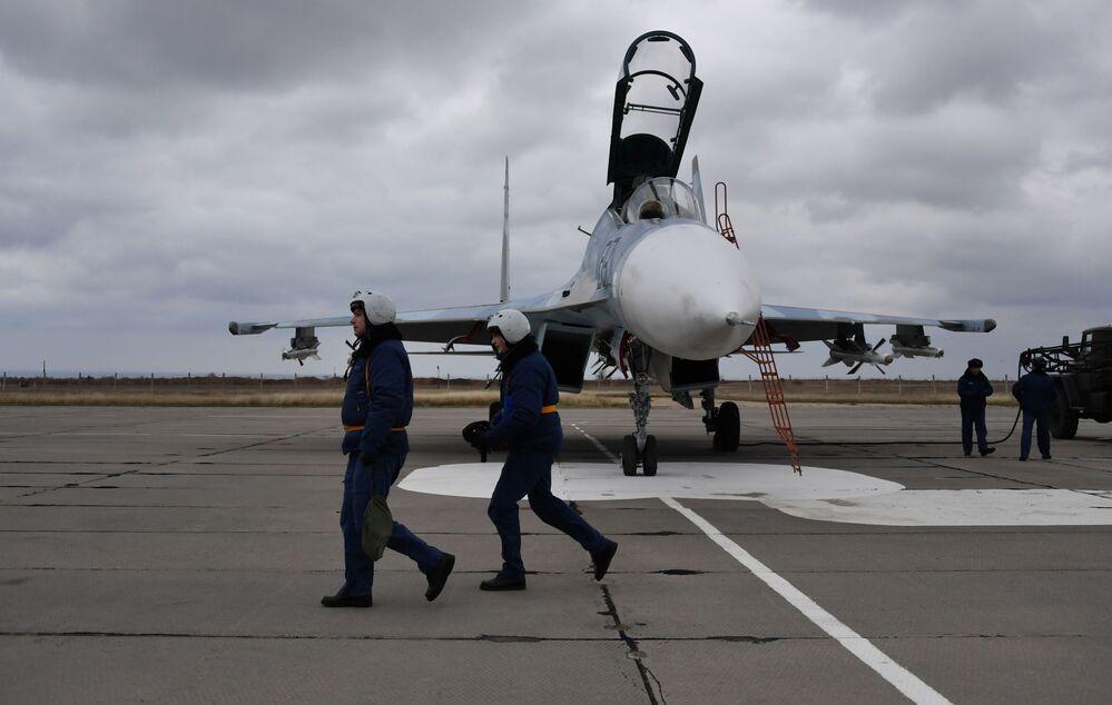 Myśliwce Su-30M2