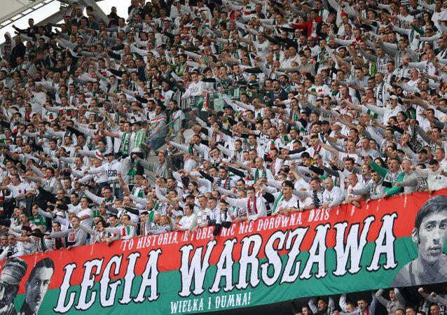 Kibice Legii Warszawa
