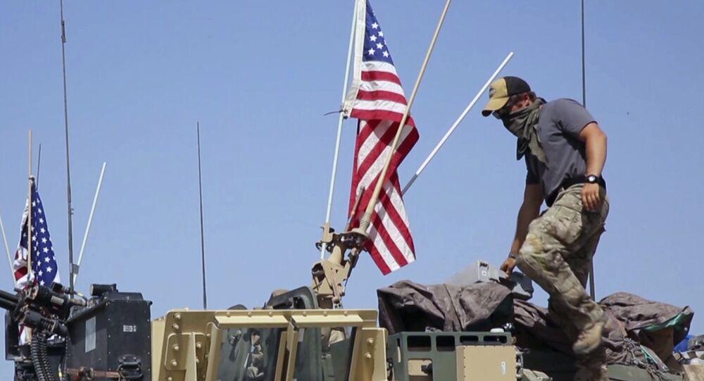 Amerykańscy żołnierze w Syrii