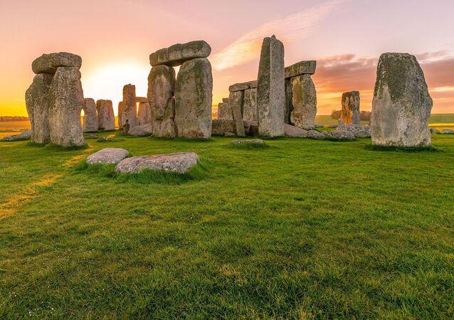 Megalityczna budowla Stonehenge