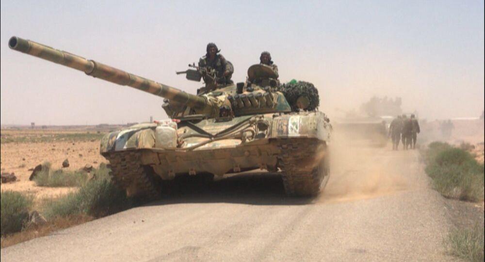 Syryjskie wojska